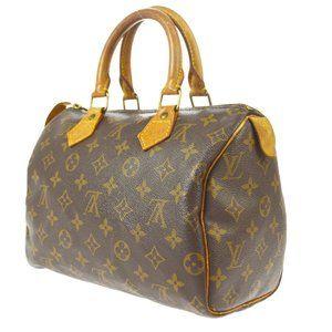 Louis Vuitton Speedy 25 Hand Bag Purse #5162L33B